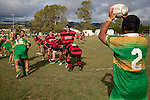 Halaloua Tupou about to throw to a lineout late in the game. Counties Manukau Premier Club Rugby Game of the Week between Drury & Papakura, played at Drury Domain on Saturday Aprill 11th, 2009..Drury won 35 - 3 after leading 15 - 5 at halftime.