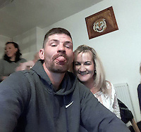 Pictured: Lukasz Robert Pawlowski (L), image found on open social media page<br /> Re: A man has cut his throat in the dock at Haverfordwest Magistrates' Court as he waited to be sentenced for a sex attack.<br /> Lukasz Robert Pawlowski, 33, had pleaded guilty to sexual assault by grabbing and kissing a shop assistant.<br /> Pawlowski, of Bush Street, Pembroke Dock, was appearing for sentence at the Pembrokeshire court when the incident happened.<br /> He has been taken to a Swansea hospital by air ambulance.<br /> Following the incident, an emergency call was made from the court at 10:20 GMT.<br /> It is unclear where and how Pawlowski gained access to the weapon.<br /> It is understood he lost consciousness and a lot of blood after the incident, but is now awake and is receiving medical treatment.