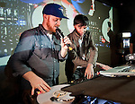 March 1st, 2012:  Canadian DJ Skratch Bastid attends the Red Bull Thre3style showcase at Volar nightclub in Hong Kong. Photo by Victor Fraile / The Power of Sport Images
