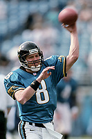 QB Mark Brunell, #8, NFL AFC Championship game, which the Tennessee Titans won over the Jacksonville Jaguars 33-14 on January 23, 2000 in Jacksonville, FL.  (Photo by Brian Cleary/bcpix.com)
