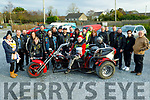 Members of the South West Motorcycle Club at the Slow Motorbike Race fundraiser in aid of the Kerry/Cork Cancer Link Bus and Palliative Care Kerry Hospice in Lixnaw on Saturday.