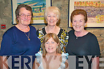 60th Birthday Present :Attending the Furey Brothers concert at St. John's Arts and Heritage Theatre , Listowel were Liz Flynn, front, Betty Ahern, Nono Hills who was celebrating  her 60th birthday and Kate Flynn all from Athea.