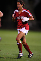 14 September 2007: Stanford Cardinal Christen Press during Stanford's 3-2 win in the Stanford Invitational against the Missouri Tigers at Maloney Field in Stanford, CA.