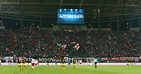 Anzeigetafel ausverkauft Totale UEbersicht   <br /> 1. Bundesliga /  2017/2018 / 03.03.2018 / RB Leipzig RBL vs. BVB Borussia Dortmund 180303058 /        *** Local Caption *** © pixathlon<br /> Contact: +49-40-22 63 02 60 , info@pixathlon.de