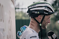 Steve Cummings (GBR/Dimension Data) interviewed after the stage<br /> <br /> 104th Tour de France 2017<br /> Stage 19 - Embrun &rsaquo; Salon-de-Provence (220km)
