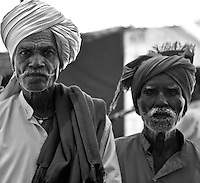 Lambani Gypsy Tribals, forest dwellers, now settled in 30-home hamlets in rural Karnataka, India.