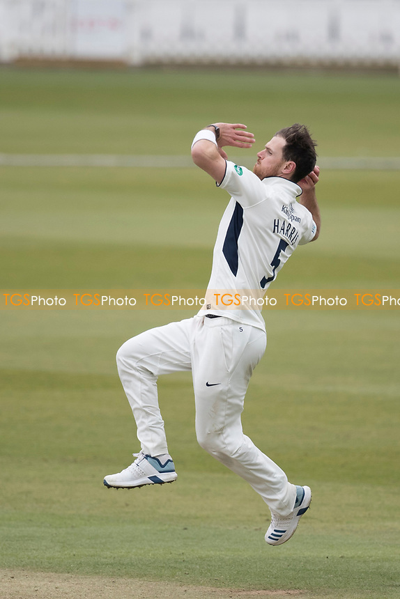 James Harris of Middlesex CCC during Middlesex CCC vs Lancashire CCC, Specsavers County Championship Division 2 Cricket at Lord's Cricket Ground on 12th April 2019
