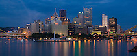 Pittsburgh's Skyline - Panoramic Crop