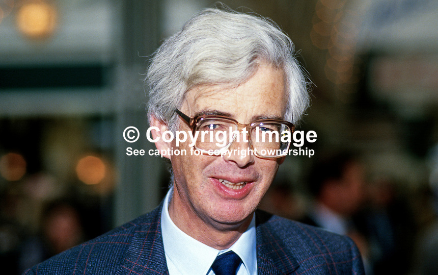 Lord Elton, 2nd Baron, Conservative Party, UK, 19871027LE..Copyright Image from Victor Patterson, 54 Dorchester Park, Belfast, UK, BT9 6RJ..Tel: +44 28 9066 1296.Mob: +44 7802 353836.Voicemail +44 20 8816 7153.Skype: victorpattersonbelfast.Email: victorpatterson@me.com.Email: victorpatterson@ireland.com (back-up)..IMPORTANT: If you wish to use this image or any other of my images please go to www.victorpatterson.com and click on the Terms & Conditions. Then contact me by email or phone with the reference number(s) of the image(s) concerned.