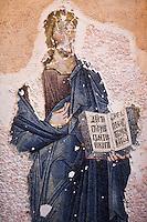 Europe/Turquie/Istanbul : Mosaique nef, Musée Kariye, Ancienne  église Saint-Sauveur