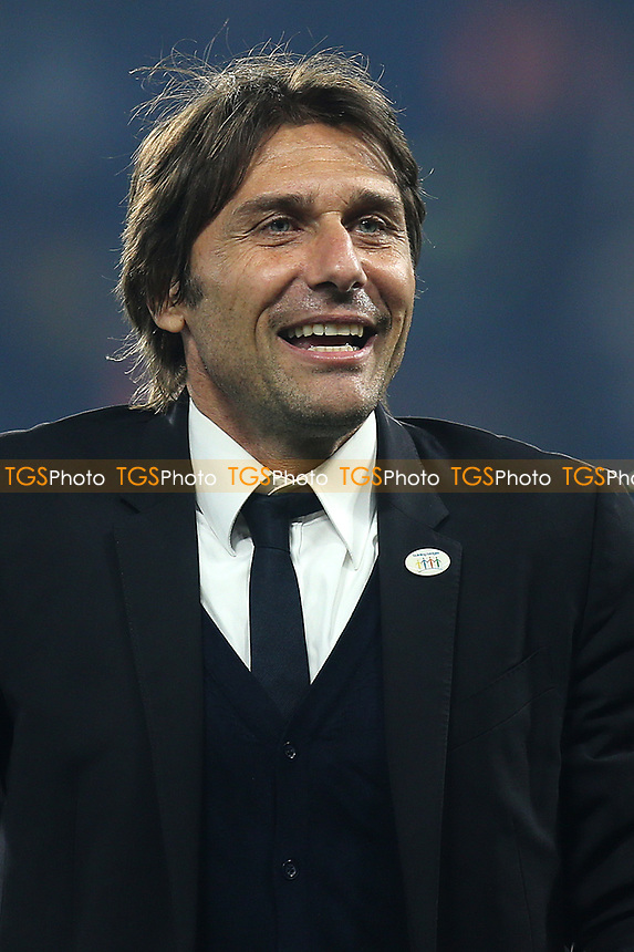 Chelsea Manager, Antonio Conte during Chelsea vs Watford, Premier League Football at Stamford Bridge on 15th May 2017