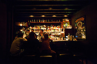 L'Antiquaire cocktail bar, Lyon, France, 13 January 2012