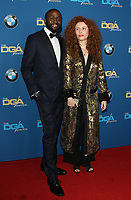 03 February 2018 - Los Angeles, California - Alma Har'el and guest. 70th Annual DGA Awards Arrivals held at the Beverly Hilton Hotel in Beverly Hills. <br /> CAP/ADM<br /> &copy;ADM/Capital Pictures