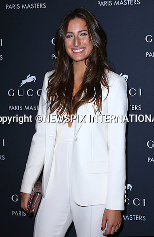 4.12.2014; Paris, France: JESSICA SPRINGSTEIN<br /> attends the Gucci Paris Masters reception at Paris Nord Villepinte.<br /> Mandatory Credit Photos: &copy;Huitel-Crystal/NEWSPIX INTERNATIONAL<br /> <br /> **ALL FEES PAYABLE TO: &quot;NEWSPIX INTERNATIONAL&quot;**<br /> <br /> PHOTO CREDIT MANDATORY!!: NEWSPIX INTERNATIONAL(Failure to credit will incur a surcharge of 100% of reproduction fees)<br /> <br /> IMMEDIATE CONFIRMATION OF USAGE REQUIRED:<br /> Newspix International, 31 Chinnery Hill, Bishop's Stortford, ENGLAND CM23 3PS<br /> Tel:+441279 324672  ; Fax: +441279656877<br /> Mobile:  0777568 1153<br /> e-mail: info@newspixinternational.co.uk