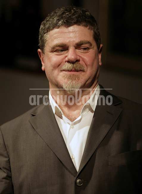 Argentine born and Academy winner Gustavo Santaolalla, composer, producer and musician , during a conference in Buenos Aires.