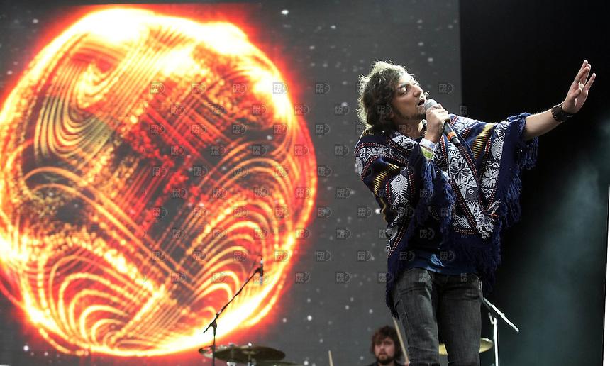 Zoe<br />  durante el Festival Vive Latino 2009 en el Foro Sol de la ciudad de M&eacute;xico, el 27 de junio de 2009. Foto: Alejandro Mel&eacute;ndez