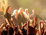 Saxon performing at The Academy, Middle Abbey street Dublin. Photo:Colin Bell/pressphotos.ie