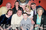50TH BIRTHDAY: Peter Breewood, Derrymora who celebrated his 50th birthday with family and friends in Kirby's Brogue Inn on Saturday night seated l-r: Ann Marie, Peter, Andrew and Margaret Breewood. Back l-r: Tim Nicholson, Tricia, Samantha and Mike Breewood.   Copyright Kerry's Eye 2008