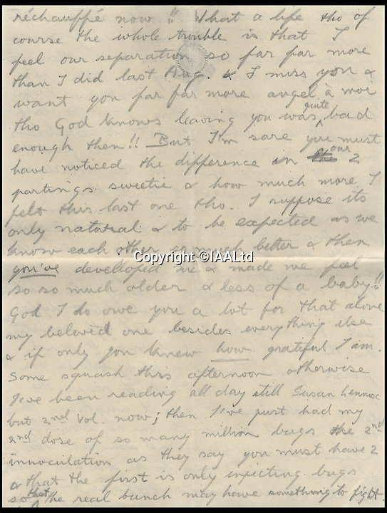 BNPs.co.uk (01202 558833)<br /> Pic: IAALtd/BNPS <br /> <br /> ***Use Full Byline***<br /> <br /> Page seven of Edward VIII letter. <br /> <br /> A remarkable letter written by controversial monarch Edward VIII that exposes him as an ungrateful, sexist and racist prince has come to light.<br /> The Prince of Wales, who later became the first King to voluntarily abdicate, told of the 'miserable and loathsome' time he was having on a Caribbean cruise.<br /> He visited Barbados in 1920 in what was supposed to be a diplomatic trip of the British Empire but he described the tropical paradise as a 'bum place'.<br /> The Royal reported the local scenery as being 'ugly' and he found the 'coloured population' to be 'revolting'.<br /> The letter is being sold on Saturday in London.