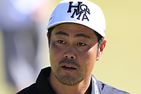 Hideto Tanihara (JPN) on the 18th green during Thursday's Round 1 of the 2018 Turkish Airlines Open hosted by Regnum Carya Golf &amp; Spa Resort, Antalya, Turkey. 1st November 2018.<br /> Picture: Eoin Clarke | Golffile<br /> <br /> <br /> All photos usage must carry mandatory copyright credit (&copy; Golffile | Eoin Clarke)