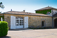 The winery and reception building at Chateau Angelus  Saint Emilion  Bordeaux Gironde Aquitaine France