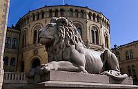 Norwegen, Oslo, Parlament Stortinget