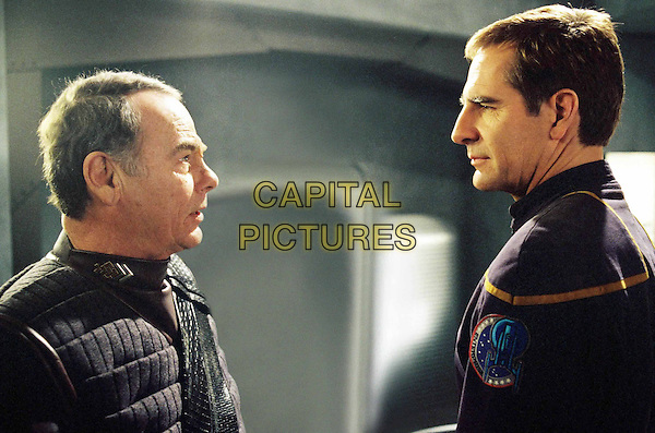 "DEAN STOCKWELL & SCOTT BAKULA.in Star Trek: Enterprise.""Detained"" .Ref: FBAW.*Editorial Use Only*.www.capitalpictures.com.sales@capitalpictures.com.Supplied by Capital Pictures."