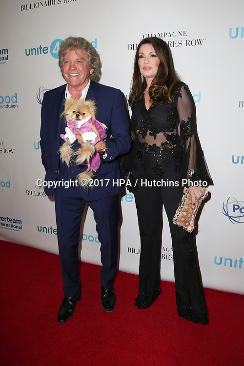 LOS ANGELES - APR 7:  Ken Todd, Lisa Vanderpump at the 4th Annual unite4:humanity Gala at the Beverly Wilshire Hotel on April 7, 2017 in Beverly Hills, CA