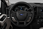 Car pictures of steering wheel view of a 2018 Ford F-150 XLT 4 Door Pick Up