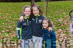 Enjoying the Tralee Junior Park Run on Sunday were Ruby Lawlor, Millie Lawlor and Bell Lawlor
