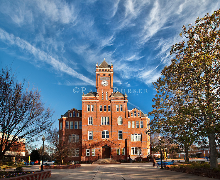 Charlotte NC - Historic Biddle Memorial Hall at Johnson C Smith University
