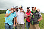 Miguel Angel Jimenez golf fans from Cardiff supporting their hero at the ISPS Handa Wales Open 2012....31.05.12.©Steve Pope