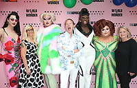 LOS ANGELES, CA - JUNE 22: Violet Chachki, Diane Anderson-Minshall, Kim Chi, Carson Kressley, Ginger Minj, Bob the Drag Queen, Susan Vance, at Beverly Center x The Advocate x World of Wonder Pride Event at The Beverly Center in Los Angeles, California on June 22, 2019. Credit: Faye Sadou/MediaPunch