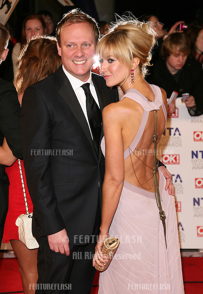 Katherine Kelly and Antony Cotton arriving for the National Television Awards 2011, at the O2, London. 26/01/2011  Picture By: Alexandra Glen / Featureflash