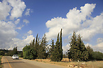 Israel, Upper Galilee, Road 886