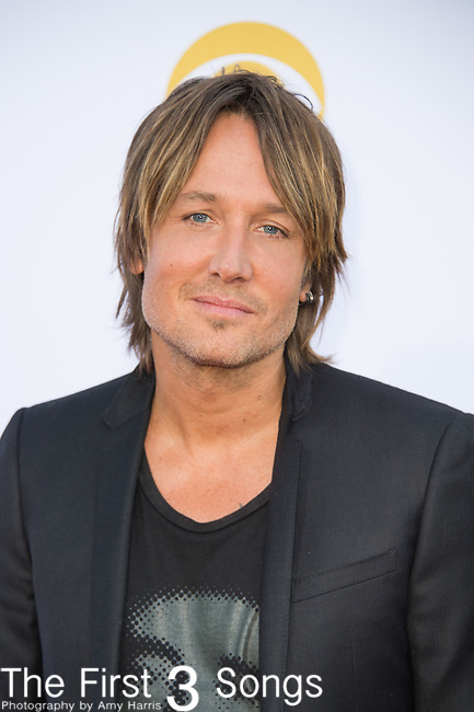 Keith Urban attends the 50th Academy Of Country Music Awards at AT&T Stadium on April 19, 2015 in Arlington, Texas.