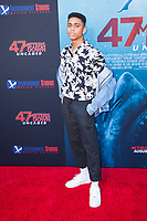 Los Angeles, CA - AUGUST 13th: <br /> Bryce Xavier attends the 47 Meters Down: Uncaged premiere at the Regency Village Theater on August 13th 2019. Credit: Tony Forte/MediaPunch