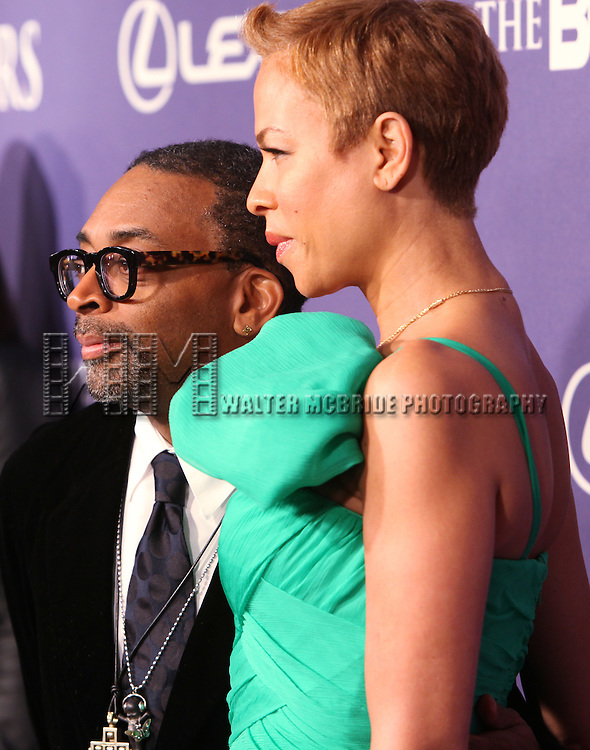 Spike Lee and Tonya Lee.arriving for the BET Honors 2012 at the Warner Theatre on January 14, 2012 in Washington, DC.