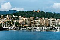 Palma, Majorca, Balearic Islands, Spain.