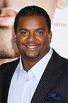 """WESTWOOD, CA. - December 16: Actor Alfonso Ribeiro  arrives at the Los Angeles premiere of """"Seven Pounds"""" at Mann's Village Theater on December 16, 2008 in Los Angeles, California."""