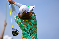 Ai Miyazato (JPN) watches her tee shot on 2 during Saturday's third round of the 72nd U.S. Women's Open Championship, at Trump National Golf Club, Bedminster, New Jersey. 7/15/2017.<br /> Picture: Golffile | Ken Murray<br /> <br /> <br /> All photo usage must carry mandatory copyright credit (&copy; Golffile | Ken Murray)