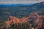Red Ridge and Distant Mesas, Bryce Canyon, Utah