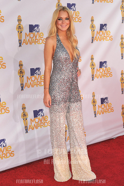 Lindsay Lohan at the 2010 MTV Movie Awards at the Gibson Amphitheatre, Universal Studios, Hollywood..June 6, 2010  Los Angeles, CA.Picture: Paul Smith / Featureflash