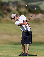 Scott Hellier of Southland. Day One of the Toro Interprovincial Men's Championship, Mangawhai Golf Club, Mangawhai,  New Zealand. Tuesday 5 December 2017. Photo: Simon Watts/www.bwmedia.co.nz