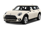 2016 MINI Clubman One 5 Door Wagon Angular Front stock photos of front three quarter view