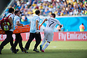 Cristian Rodriguez (URU), JUNE 24, 2014 - Football / Soccer : Cristian Rodriguez of Uruguay pulls stretcher during the FIFA World Cup Brazil 2014 Group D match between Italy 0-1 Uruguay at Estadio das Dunas in Natal, Brazil. (Photo by Maurizio Borsari/AFLO)