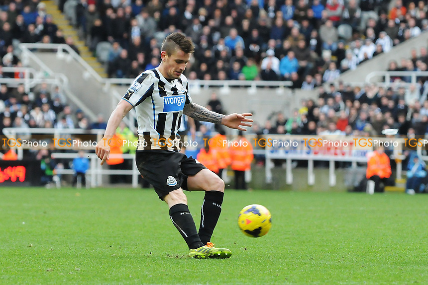 Mathieu Debuchy of Newcastle United - Newcastle United vs Sunderland - Barclays Premier League Football at St James Park, Newcastle upon Tyne - 01/02/14 - MANDATORY CREDIT: Steven White/TGSPHOTO - Self billing applies where appropriate - 0845 094 6026 - contact@tgsphoto.co.uk - NO UNPAID USE