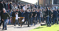 Bolton Wanderers invade the pics after their teams first goal<br /> <br /> Photographer Stephen White/CameraSport<br /> <br /> The EFL Sky Bet League One - Port Vale v Bolton Wanderers  - Saturday 22nd April 2017 - Vale Park - Burslem<br /> <br /> World Copyright &copy; 2017 CameraSport. All rights reserved. 43 Linden Ave. Countesthorpe. Leicester. England. LE8 5PG - Tel: +44 (0) 116 277 4147 - admin@camerasport.com - www.camerasport.com