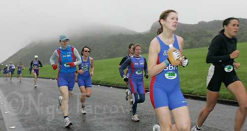 16 JUN 2007 - EDINBURGH, UK - Catherine Grum - EUROPEAN AGE GROUP DUATHLON CHAMPIONSHIPS. (PHOTO (C) NIGEL FARROW)