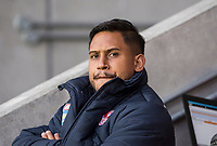 Picture by Allan McKenzie/SWpix.com - 06/04/2018 - Rugby League - Betfred Super League - St Helens v Hull FC - The Totally Wicked Stadium, Langtree Park, St Helens, England - Ben Barba sits out the match with a viral infection.
